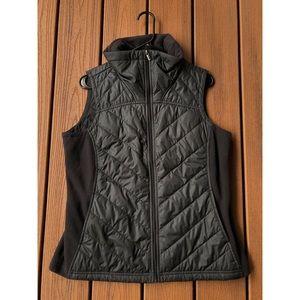 Columbia fleece/puffer vest